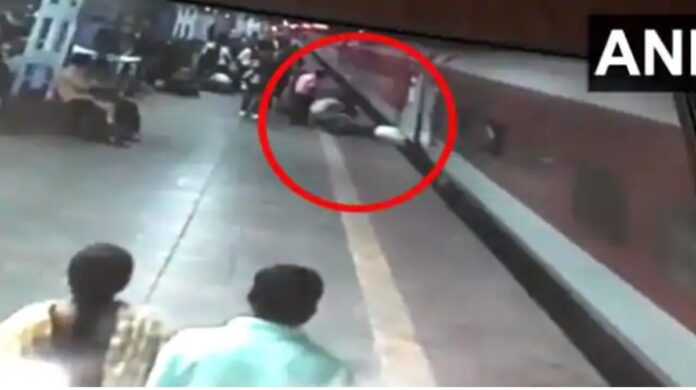 accident at station